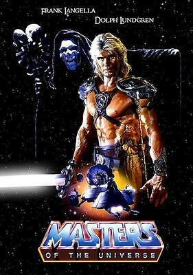 Masters of the Universe Movie POSTER 11 x 17 Dolph Lundgren, B, LICENSED NEW
