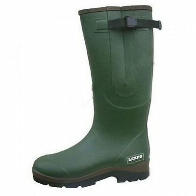 Lemigo Green Hunting Wellington Boot