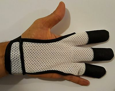Archery 3 Finger Mesh Glove,protective Glove