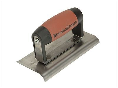 Marshalltown - 176D Cement Edger Curved & Straight End Durasoft Handle 6 x 3in