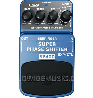BEHRINGER SUPER PHASE SHIFTER SP400  Guitar Pedal
