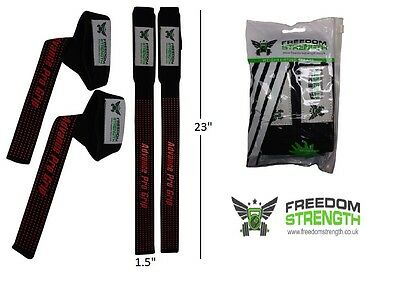 Freedom strength gel grip weight lifting bars and attachments wrist straps