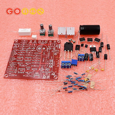 0-30V 2mA-3A Continuously Adjustable DC Regulated Power Supply DIY Kit RED