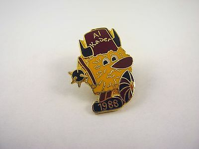 Collectible Vintage Lapel Pin: Al Kader Shriner 1988