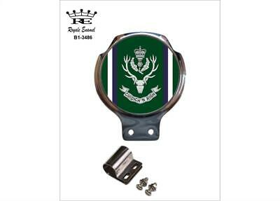 Royale Military Car Bar Badge - THE QUEENS OWN HIGHLANDERS - B1.3486