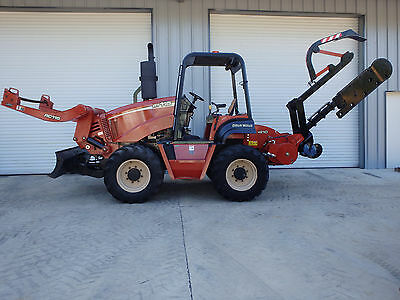 2008 Ditch Witch RT115 NEW H910 heavy duty trencher, 645 hrs.