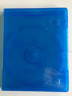 Empty Replacement Single-Disc Blu-Ray Case