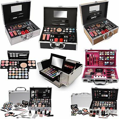 Urban Beauty Vanity Case Cosmetic Christmas Gift Set Professional MakeUp Carry
