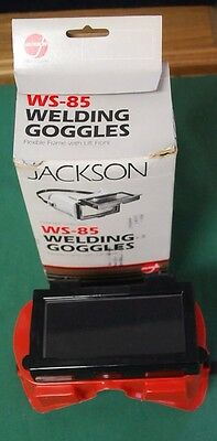 Jackson Welding Goggles Ws-85 Flexible Frame W/ Lift Front Item No. 0746-0515