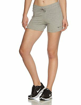 New Nike Women's Shorts Solid Jersey/grey/soft cotton/gym/ holidays/sport shorts