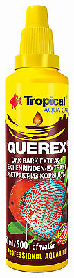 TROPICAL AQUA CARE BLACK WATER TREATMENT OAK BARK HIGH TANNIN CONTENT Ph (500ml)