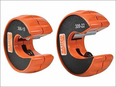 Bahco - 306 Pipe Slice Twin Pack 15mm & 22mm