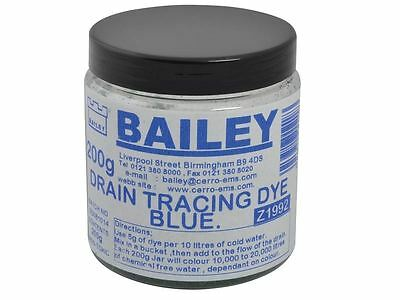Bailey - 1992 Drain Tracing Dye - Blue