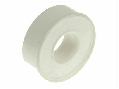 Faithfull - P.T.F.E Tape 12mm x 12m White (Pack 10)
