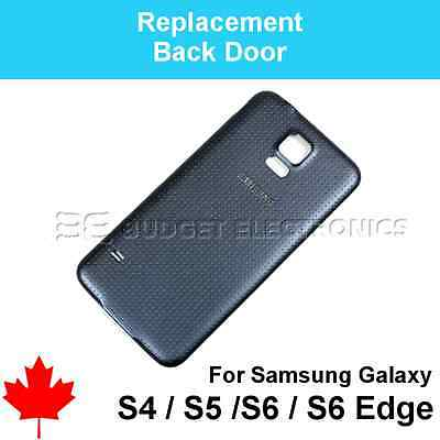 Samsung Galaxy S3/S4/S5/S6/EDGE Replacement  Battery Back Door Cover Part Canada