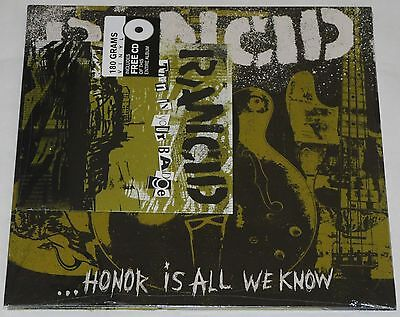 "Rancid Honor Is All We Know LP ( 180g) + 7"" + CD Official Vinyl Edition NEW"