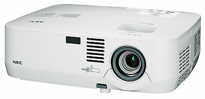 Nec Np-310 Hdmi Hd Ready 2200 Lumens *new 5000 Hour Lamp* Lcd Projector Hdtv.