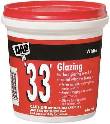 Dap 71112 GLAZING COMPOUND 946ML ready mixed for wood and metal sashes