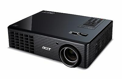 ACER DLP  PROJECTOR 2000 LUMENS HDMI NEW LAMP HDTV REMOTE 4000 hours