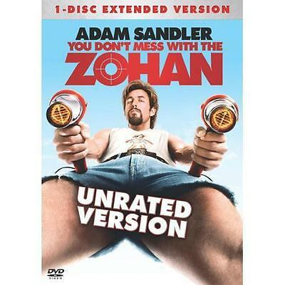 *You Don't Mess With The Zohan*DVD*New and Factory Sealed*Free shipping USA*