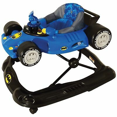 Kids Embrace DC Licensed Batman Baby Walker With Activity Tray - From 6 Months