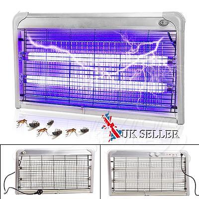 30W Electronic Indoor Mains Electric Uv Mosquito Bug Fly Zapper Insect Killer UK