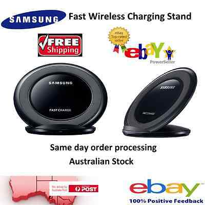 Samsung Fast Charge Wireless QI Charger Stand for S6 S7 Edge Plus Note 5 Note 7