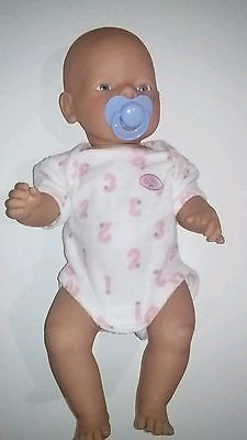 Zapf Creations Baby Born Doll in Original Zapf Outfit with Dummy