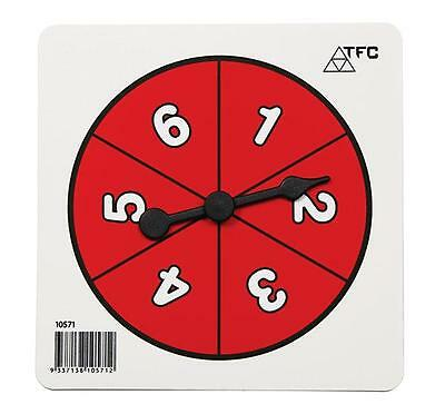 Number 1-6 Spinners Maths Teacher Resources Games Classroom Learning School
