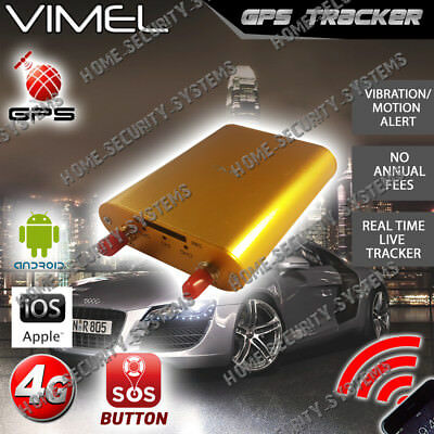 4G GPS Tracker 3G Hardwired Free Tracking APP WEB server Device Anti Theft Car