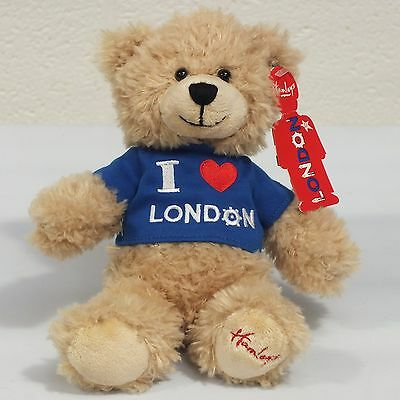 Hamleys I Love London Soft Toy Teddy Bear