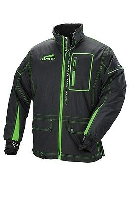 Arctic Cat Men's Mountain Tec Coat Green/Black XLarge 5270-756