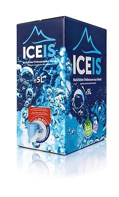 ICEIS - Natural Alkaline water (pH 8.8) from a glacier in Iceland.