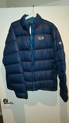 Mountain Hardwear 'Ratio' Packable Goose Down Jacket, Size XL BRAND NEW