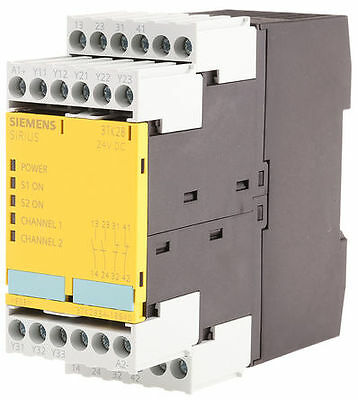 New In The Box. Siemens Sirius  3TK28341BB40. Safety Relay, Dual Channel. 24V