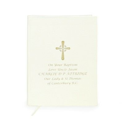 Personalised Gold Companion Holy Bible Eco-Friendly