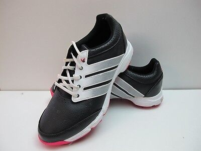 Womens Adidas Response Light Black Pink Lace Up Golf Sport Shoes UK 5 EUR 38