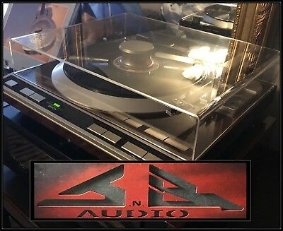 """Denon DP-37F DP 37F  """"NEW"""" Replacement Dust Cover for Turntable"""