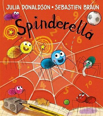 Spinderella - Book by Julia Donaldson (Paperback, 2016)