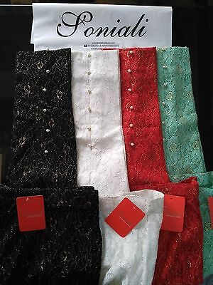 Pakistani Indian Cigrette Pant Embroidered Net Trouser With Lawn Lining Pearls