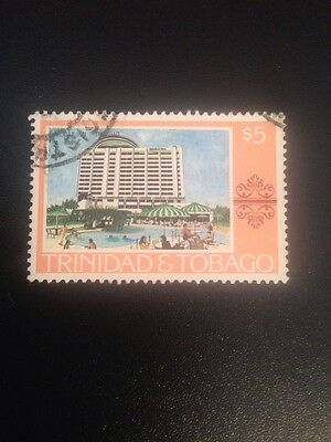 Trinidad And Tobago 1976 Paintings,hotels Used Sg495 Cat Value £7+