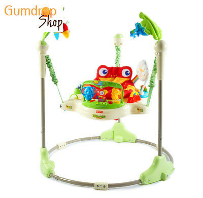 Fisher Price Rainforest Jumperoo Baby Jump Musical Activity Canter Toy