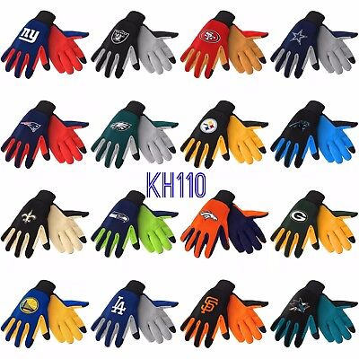 NFL / NBA/  MLB /NHL Team Texting Technology Gloves -Pick your Team