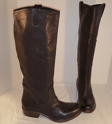 a47d4b5ef New Womens Catarina Martins Handcrafted Tall Black Leather Boots Size Us 8  38