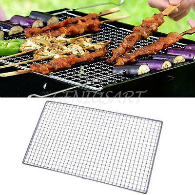 Replacement Stainless Steel Wire Mesh BBQ Grill Net for Outdoor Barbecue Picnic