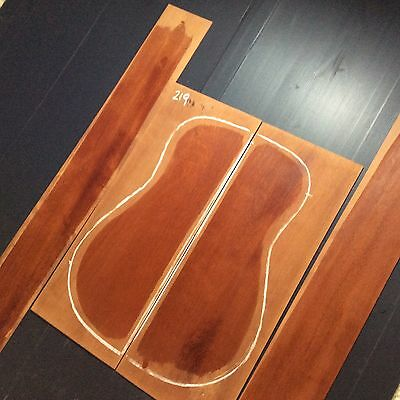 Aussie Rosewood Acoustic Back And Sides Set. Tonewood