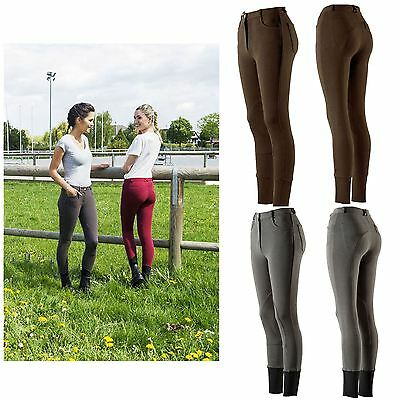 "Equi-Theme Kids ""Pro Coton? Breeches Anthracite"