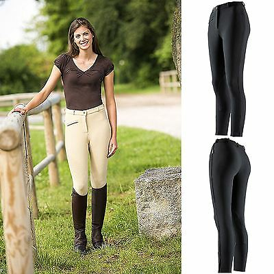 Belstar Ladies Mens Kids Sydney SelfFabric Knee Patch Pony Horse Riding Breeches