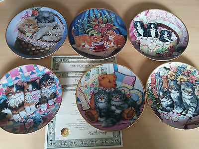 Collector's Plates X 6 - Limited Editions
