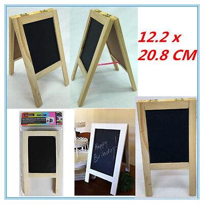 1 Mini Black Chalkboard With Stand Wedding Function Kids Craft Tool Sign Deco